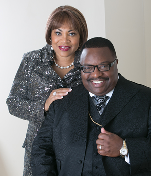 Bishop Dr. Samuel R. Johnson, Sr. Pastor/Founder & Elder Dr. Wanda L. Johnson, Co-Pastor